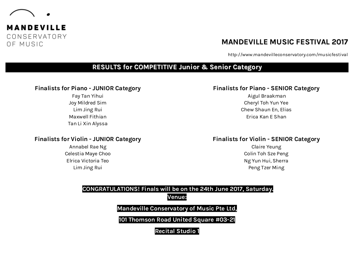 Mandeville Conservatory of Music
