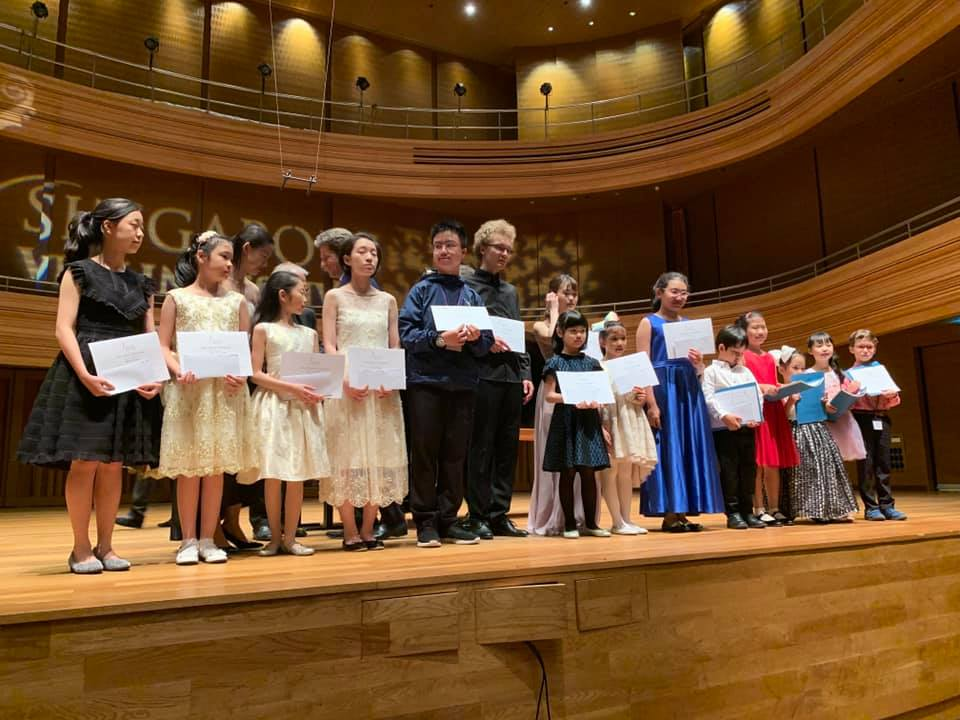 School Achievements - Mandeville Conservatory of Music